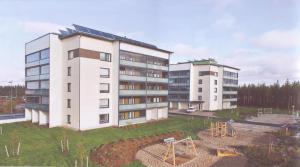 Ouluun rakennetuissa passiivikerrostaloissa jätevedestä saadaan talteen noin 25% käyttöveden lämmittämisen tarvittavasta energiamäärästä.